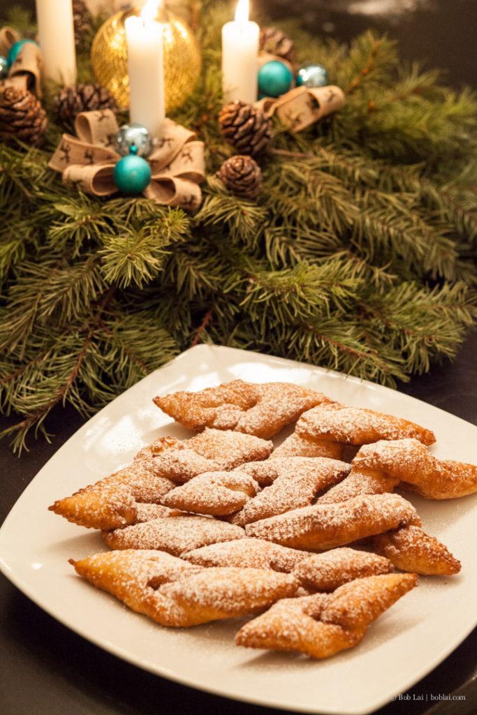Klejner Deep Fried Christmas Cookies Three More Bites